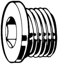 Plug M12x1,5 (Nieuw)