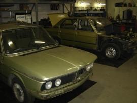 BMW E12 520/6 19?? (Gesloopt)
