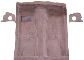 Tapijt voorgevormd 3-delig luxe met isolatie, diverse kleuren, 2-deurs (Repro, Nieuw)
