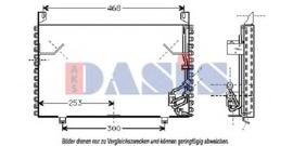 Airco condensor (Nieuw)