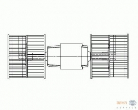 Kachelmotor (Nieuw)