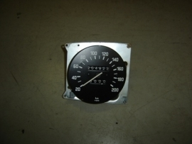 Kilometerteller tot 200 km/u