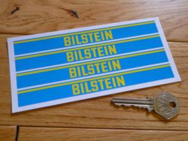 """Bilstein"" sticker 150x15 mm (4 stuks, Nieuw)"