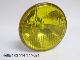 Koplamp Hella grootlicht geel (high beam) LHD (Nieuw)