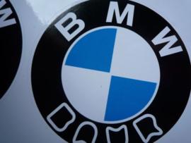 """""""BMW Baur"""" Sticker d=68 mm (2 stuks, Nieuw)"""