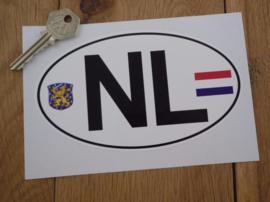 NL wit 155x93mm (Nieuw)