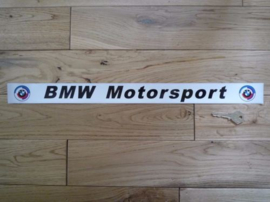 "Strutbrace Sticker ""O BMW Motorsport O"" 500x35 mm (Nieuw)"