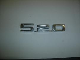 """""""520"""" Achterklep met grote 5"""