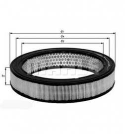 Luchtfilter LX189 tbv Zenith / Solex PDSI (Nieuw)