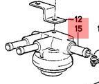 Drukregelaar M20 motor