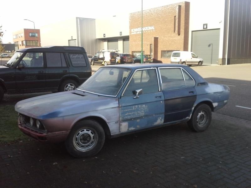 BMW E12 520 1975 (Verkocht)