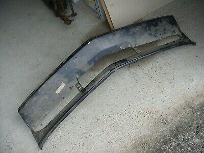 Bumper middendeel staal tot 05-1982 (reeds ingekort)