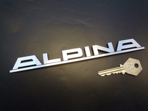 """""""Alpina"""" embleem zelfklevend 195x19 mm (Nieuw, Repro)"""