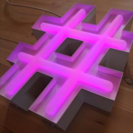 LED NEON BAKLETTER