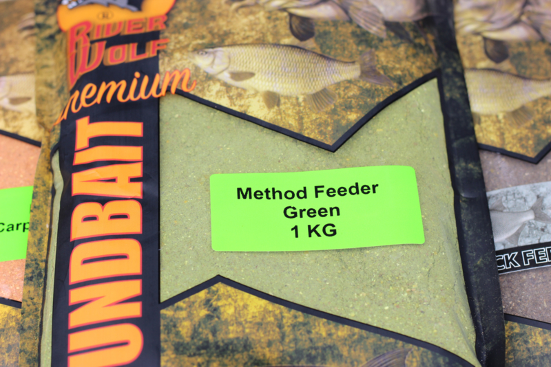Groundbait Method Feeder Green
