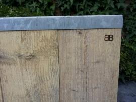 Steigerhouten plantenbak; Stabilo XXL
