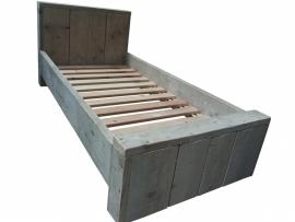 Steigerhouten bed Elize
