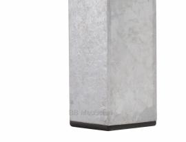 Tafel Stabilo Medium, steigerhout in combinatie met verzinkt staal