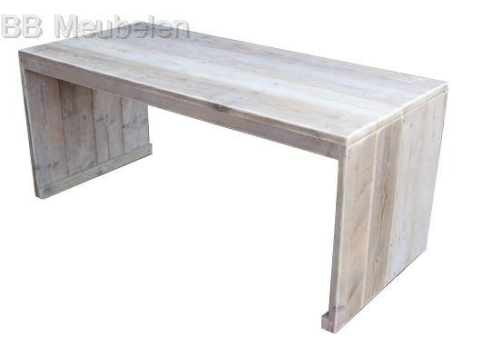Tafel Helma, stijlvolle steigerhouten tafel