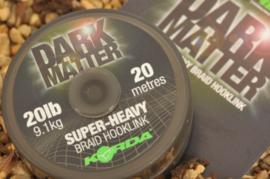 Dark matter braid