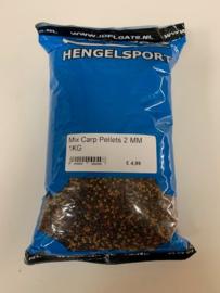 Mix carp pellets