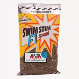 Swim stim f1 sweet low feed pellets