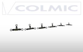 Cross line rolling + fluo beads