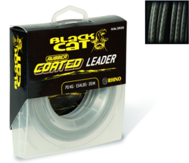 RUBBER COATED LEADER GREY