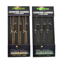 Leadcore leaders ring swivel