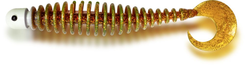 CURLY WORM 24G 17CM