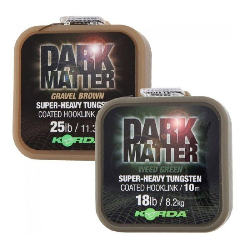 Dark matter super-heavy tungsten coated hooklink