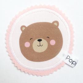 poppenhuis kleedje beer