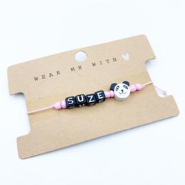 naamarmbandje panda