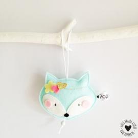decoratie hanger vosje
