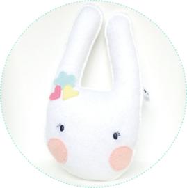 rammelaar konijntje wit