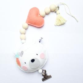 decoratie kaarthanger ijsbeertje