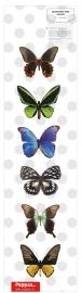 muursticker prachtige vlinders