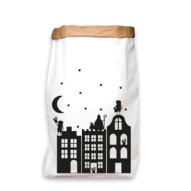 paperbag sinterklaas huisjes M / L /  XL