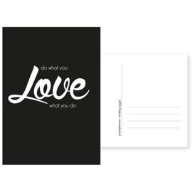 kaart love what you do