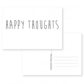 kaart happy thoughts