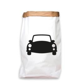 paperbag zwart auto