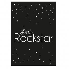kaart little rockstar