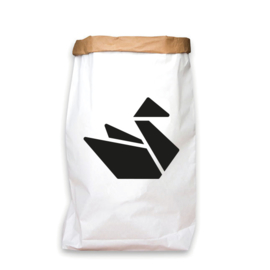paperbag zwart zwaan japans