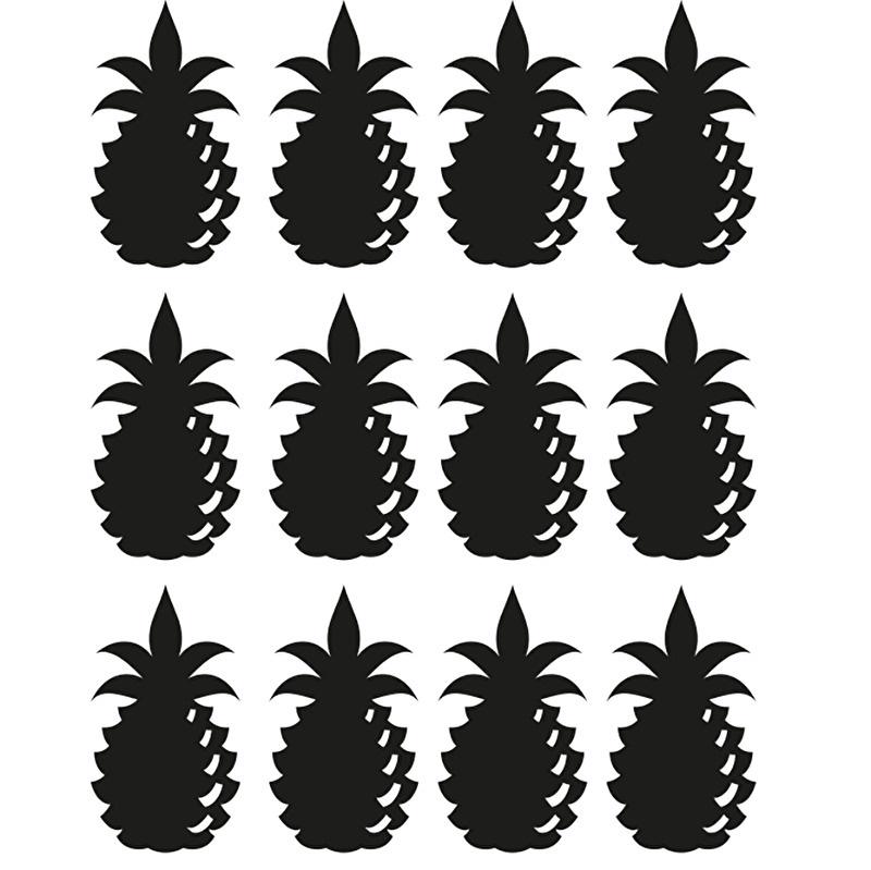 muurstickers folie ananas