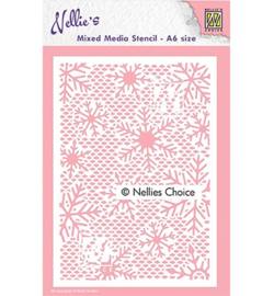 Nellie`s Choice - MMSA6-015 - Small Snowflakes