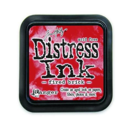 Ranger Distress Inks pad - fired brick stamp pad TIM20202 Tim Holtz