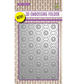 Nellie`s Choice EF3D001 - Backgrounds Flowers-1