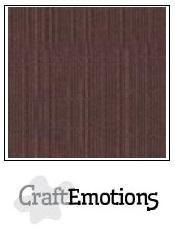 CraftEmotions linnenkarton koffie 27x13,5cm 250gr