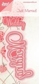 Cutting stencil - wedding