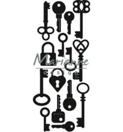 Marianne D Craftable CR1435 - Punch die: keys